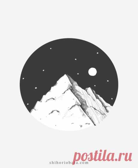 How to Draw Mountains: Easy Step by Step Tutorial