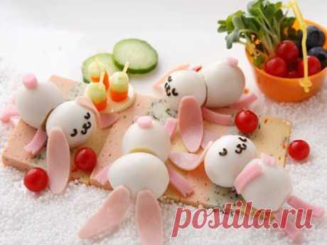 Необычные идеи завтрака из яиц