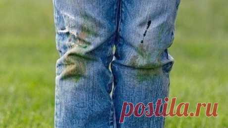 Чем и как отстирать пятна от травы на одежде: проверенные способы. Предлагаем вам воспользоваться помощью народных методов или профессиональных пятновыводителей