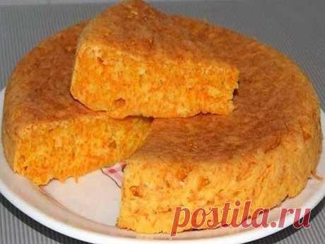"""Нежнейший пирог-десерт из манки и морковки - просто тает во рту!!! Пирог-десерт """"Маня Морковкина""""   Ингредиенты: -Морковь (мелко тёртая) — 2 стак. -Манка — 1 стак. -Мука — 1 стак. -Яйца — 2 шт -Сахар — 1 стак. -Ваниль — 1 упак. -Сода (гашеная уксусом или разрыхлитель) — 1 ч. л. -Кефир (йогурт) — 1 стак. -Масло сливочное (маргарин) — 150 г  Рецепт приготовления пирога: 1.Залить манку кефиром и оставить на 20-30мин 2. Натереть морковь на мелкую тёрку и отжать сок - чем суше,..."""
