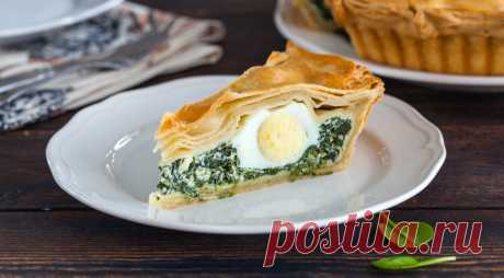 Пасхальный яичный пирог — Фактор Вкуса