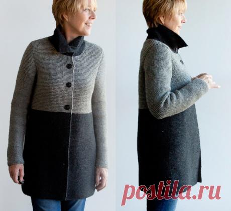 Вязаное пальтоBrooklyn | ДОМОСЕДКА