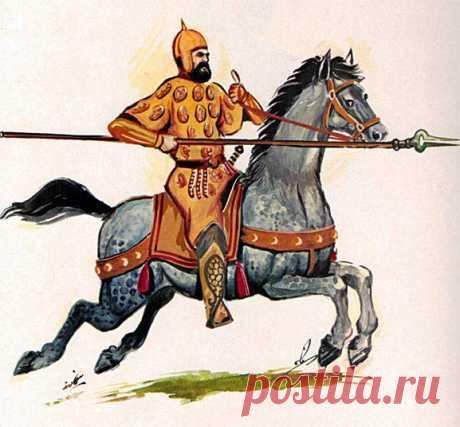 Латники средневекового Ирана