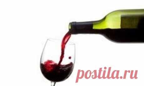 Польза и вред красного вина.