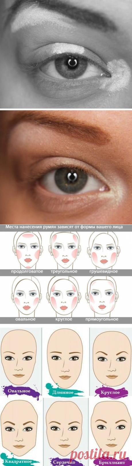 Маленькие хитрости макияжа, которые облегчат вашу жизнь / Все для женщины