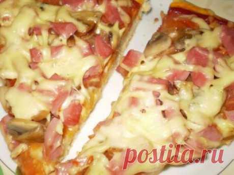 Обалденное тесто для пиццы