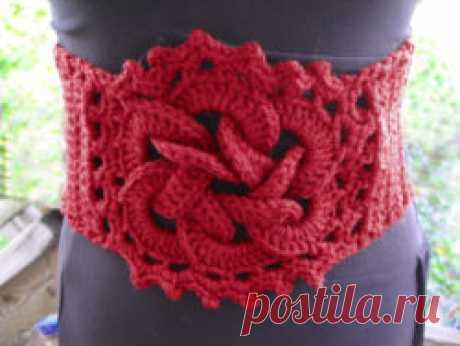 crochet knot belt | https://lomets.com