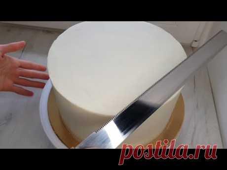 Всего два ингредиента Помадка для выравнивания торта