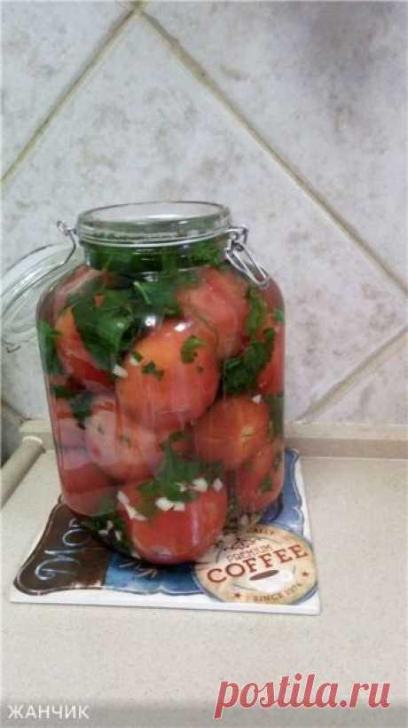 «Эротические» помидоры На вкус получаются очень нежные. А привкус сельдерея дает свою пикантную нотку. Даже те, кто не любит сельдерей, будут приятно удивлены. И рассол очень вкусен. Так что рекомендую приготовить и опробовать...