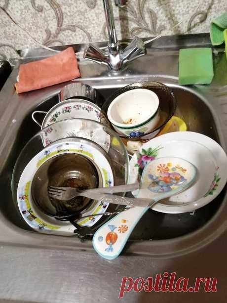 Как я, несмотря на изначальное сопротивление мужа, обзавелась прекрасной помощницей на кухне - посудомоечной машиной