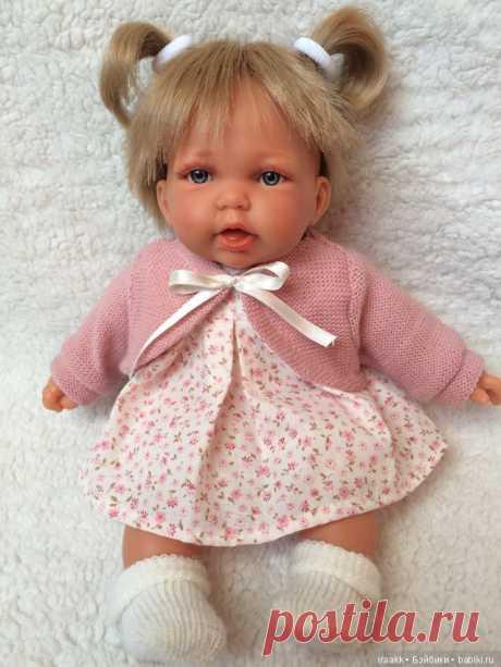 Малышка Элис от Antonio Juan в розовом / Игровые куклы / Шопик. Продать купить куклу / Бэйбики. Куклы фото. Одежда для кукол