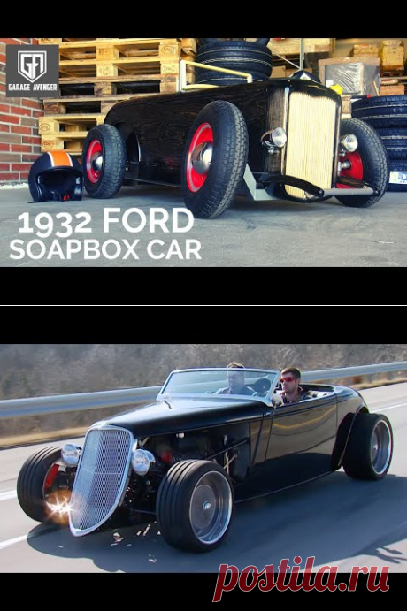 (8331) 1932 Ford Soapbox Car (How did I build it?) - YouTube