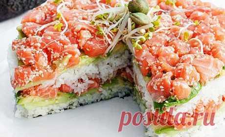 Салат, который заменит вам суши Рецепты