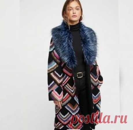Пальто Встретила вот такое пальто .Может кому и пригодится?