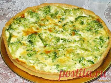 Киш с брокколи рецепт с фото Вкусный рецепт приготовления киша с брокколи в домашних условиях. Киш с брокколи рецепт с фото по шагам