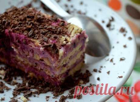 Десерт из печенья и творога — Sloosh – кулинарные рецепты