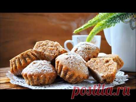 ОРЕХОВЫЕ КЕКСЫ самый простой и вкусный рецепт к чаю🌟Как приготовить ореховые кексы / маффины 🌟
