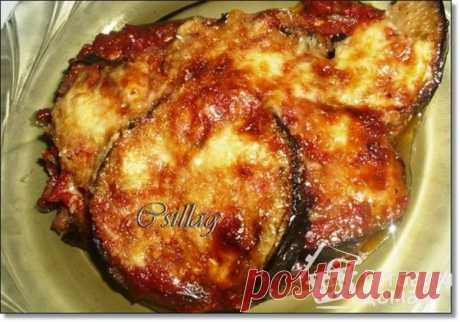 Баклажаны,запечёные в томатном соусе - пошаговый рецепт с фото на Готовим дома