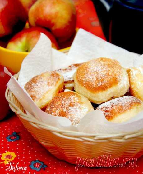 Яблочные пончики - Душевная кухня — LiveJournal