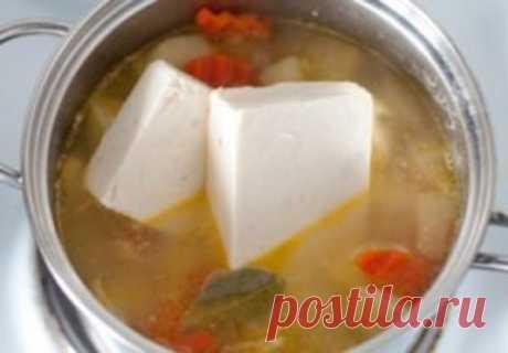 Лучший в мире обед: Куриный сырный суп «Богатый дом»