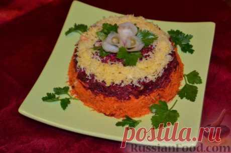 Рецепт: Салат «Любовница» с сыром