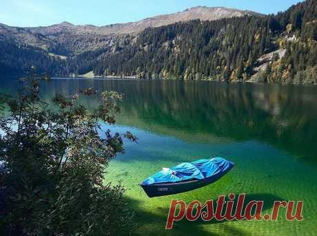 Кёнигзее - самое чистое озеро Германии!