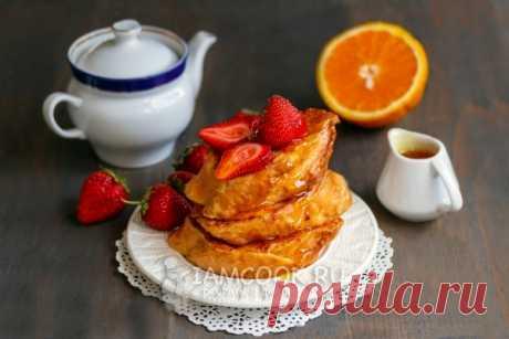 Торрихас — рецепт с пошаговыми фото и видео. Как приготовить сладкие гренки в молоке с яйцом?