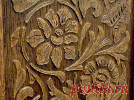 Master class — imitation of woodcarving in 1 hour