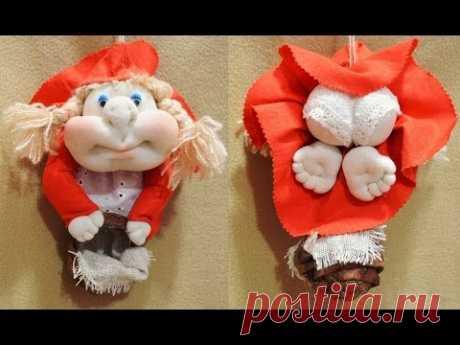 Кукла попик Красная Шапочка ❀ - YouTube