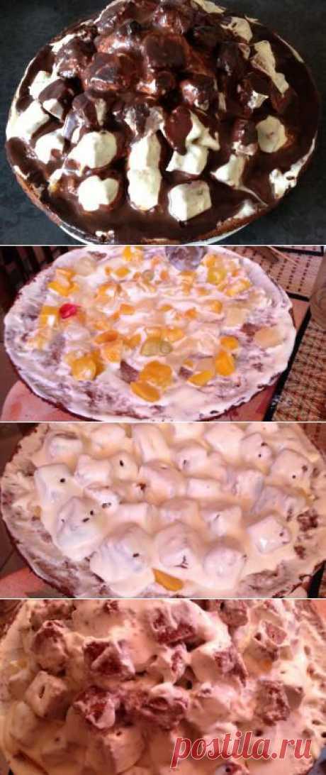 Чудесный торт - домашний рецепт от Простоквашино