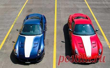 Ferrari 599 GTO x2