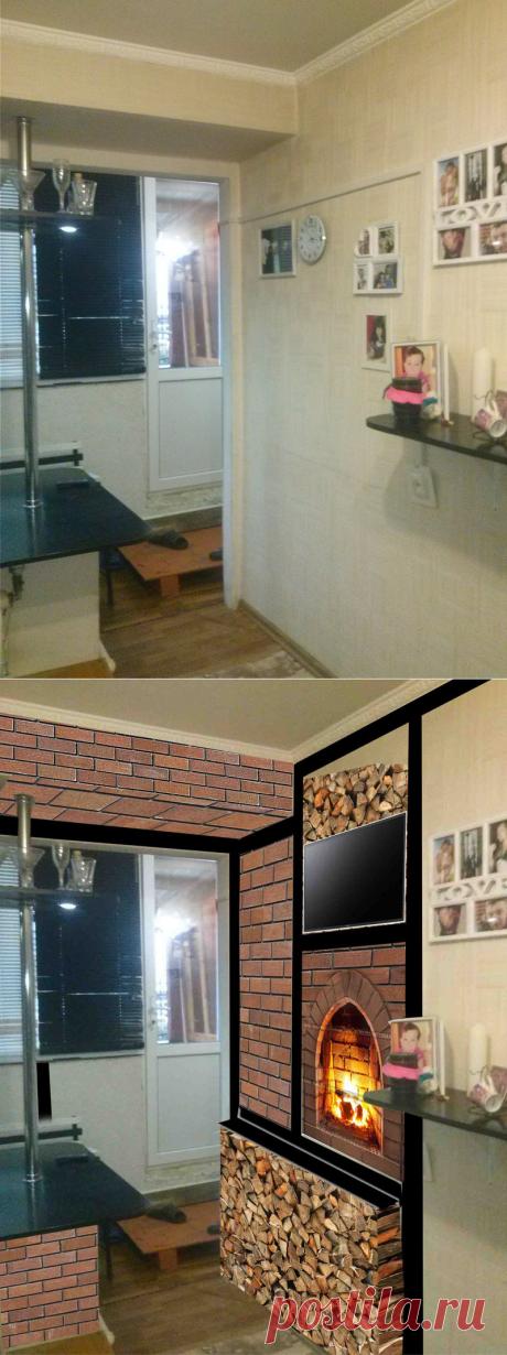 Unusual kitchen interior