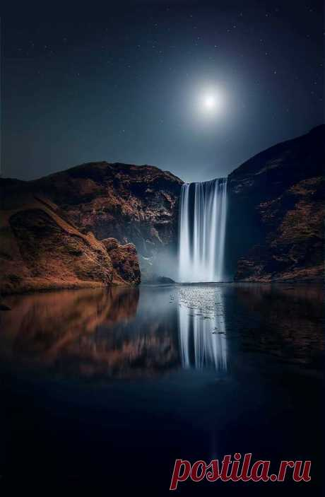 mxtraculous • lewerta: The Skógafoss Waterfall - Iceland ...