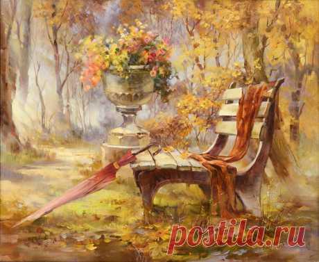 Светлая живопись Риммы Вьюговой