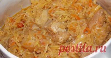 Польский бигос из свежей капусты. Важные нюансы приготовления вкуснейшего блюда!Ему рады на любом столе! - Копилка идей