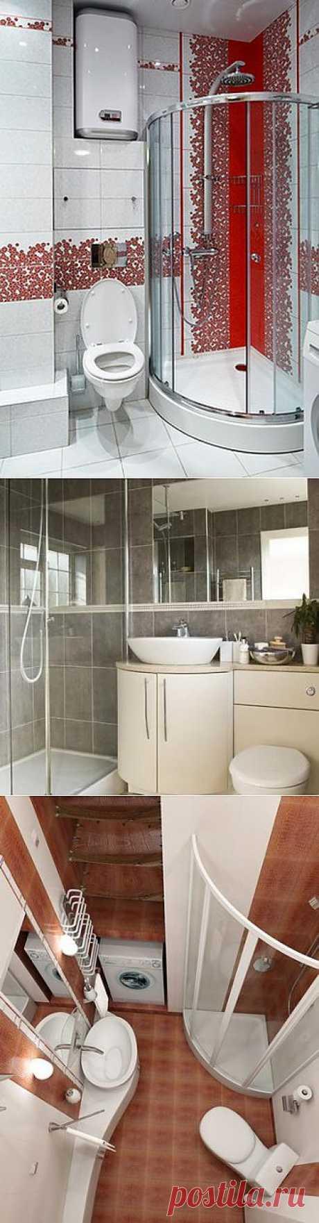 Дизайн ванной комнаты с душевой кабиной | Домфронт
