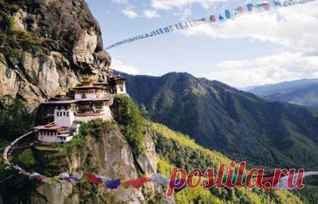 Такцанг-лакханг: скальный монастырь в Бутане — Путешествия