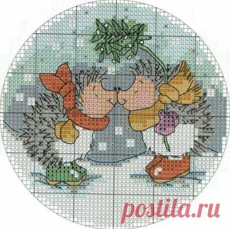 Новогодняя вышивка от Margaret Sherry / Райская пища