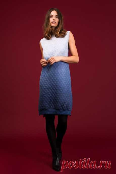 Готовая выкройка полуспортивного платья Модная одежда и дизайн интерьера своими руками