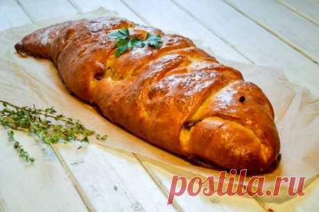 Рыбный пирог — Sloosh – кулинарные рецепты