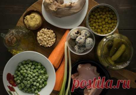 Оливье с соусом песто: рецепт пошаговый с фото | Меню недели | Меню недели