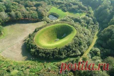 Кратер Ирландского Небесного Сада