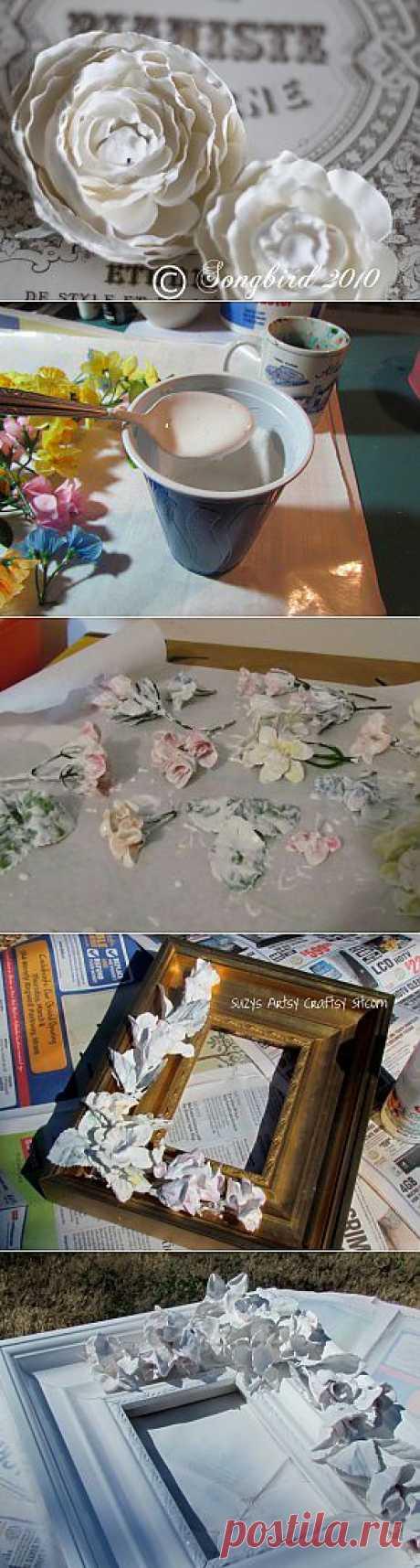 La Clase maestra. Las flores en el yeso.