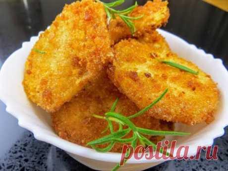 Картофель в хрустящей панировке / Вкусный рецепт без заморочек