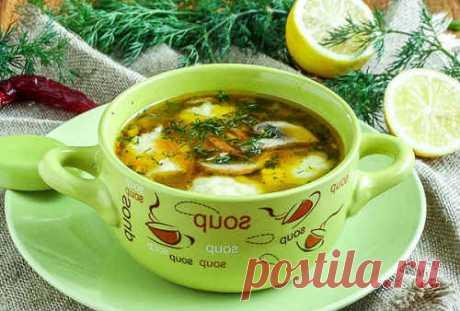 Суп с клецками - 7 вкусных простых рецептов пошагово с фото