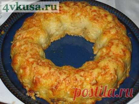 Fish roll with mushrooms and egg | 4vkusa.ru