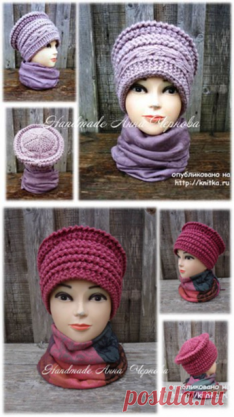 Hat Boyar spokes. Anna Chernova's work, Knitting for women