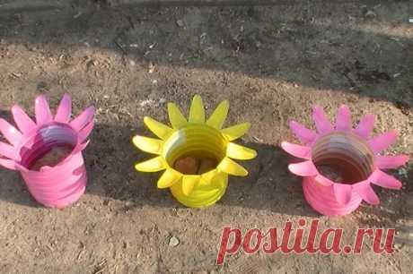 Поделки из пластиковых бутылок. Идеи для сада и огорода с фотоиллюстрациями и описаниями