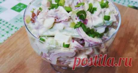 Классный рецепт - Салат с копчёной курицей! Проверенный мною салатик. Подробности по ссылке ниже: https://www.youtube.com/watch?v=d1OceFxHTRo