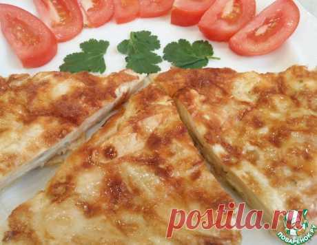 Быстрый горячий завтрак из лаваша – кулинарный рецепт